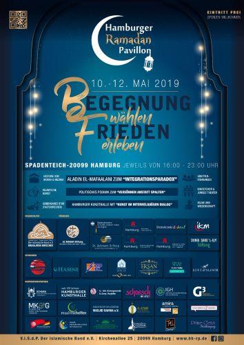 Ramadan Pavillon Plakat