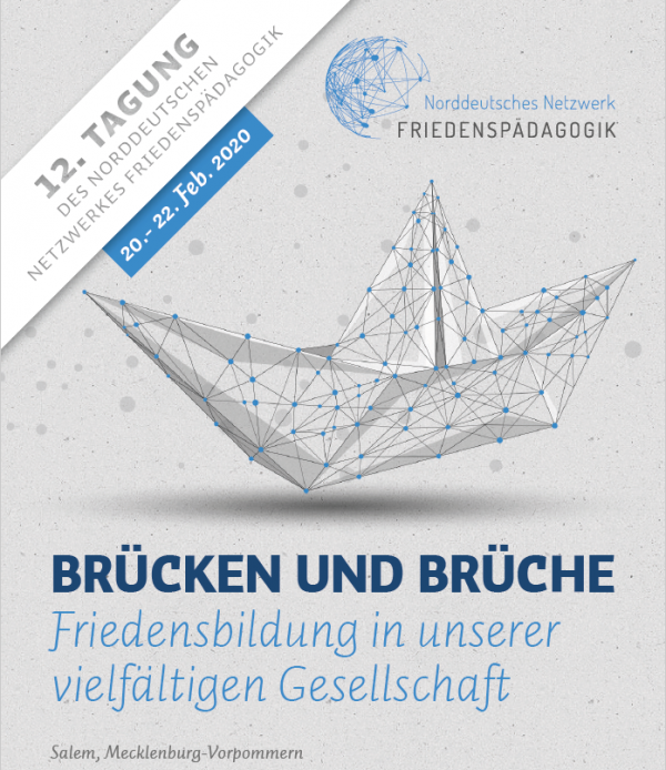 Flyer Friedenstagung